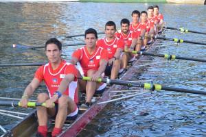 Rodrigo Muñoz, Oscar Vásquez, Felipe Leal, Nélson Martínez, Ignacio Abraham, Felipe Cardenas, Fabian Oyarzún, Felipe Oyarzún. Tim. Felipe Cancino