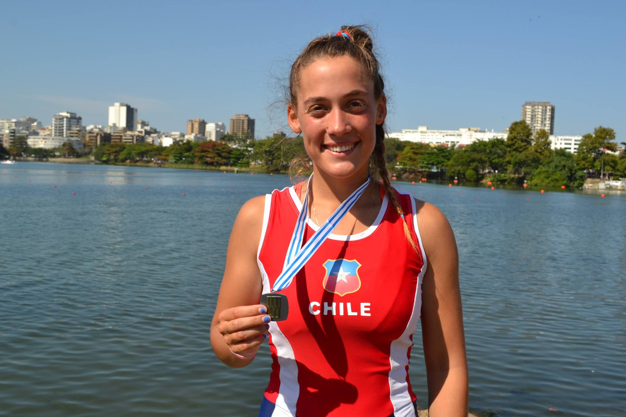 Melita Abraham es la nueva capitana del Team Coach Chile.