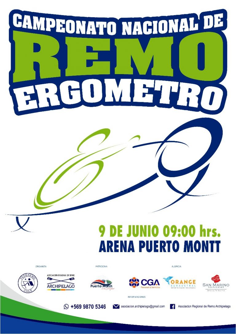 Todo Listo para el Nacional de Remo Ergómetro en Puerto Montt