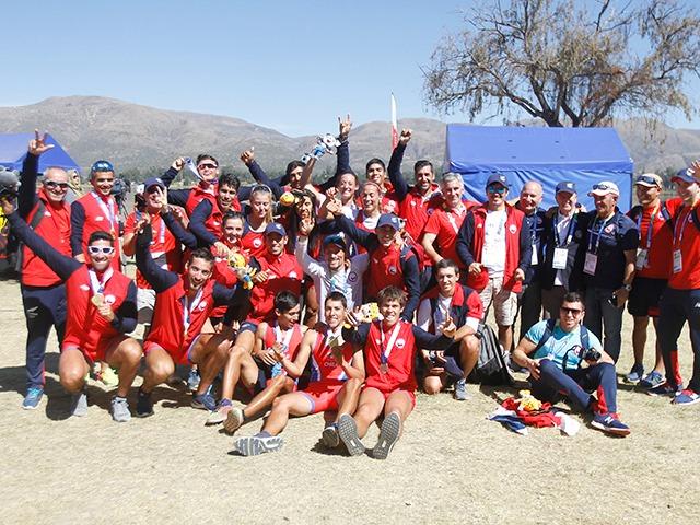 Selección Nacional de Remo sigue dando alegrías en Cochabamba