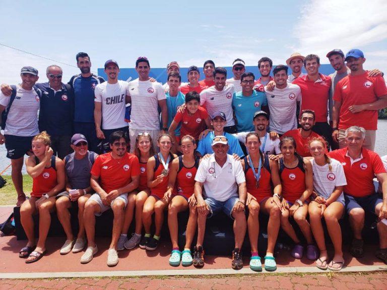Brillante participación de selección nacional de Remo en Río de Janeiro 2018