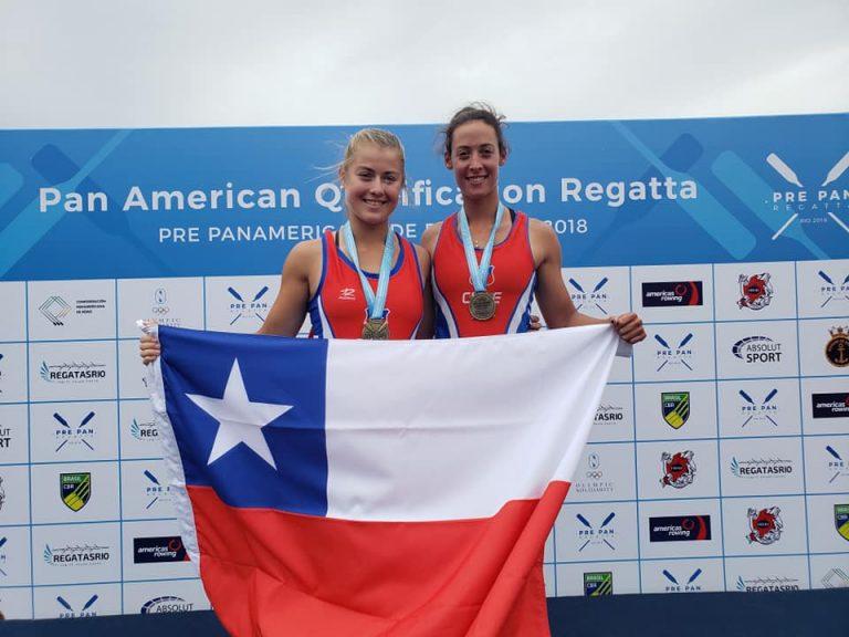 Chilenos conquistan tres nuevos Oros y Clasifican a Lima 2019