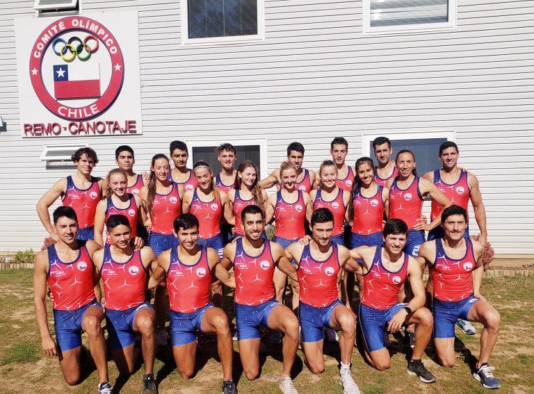Selección Chilena de Remo lista para desafío Panamericano Lima 2019