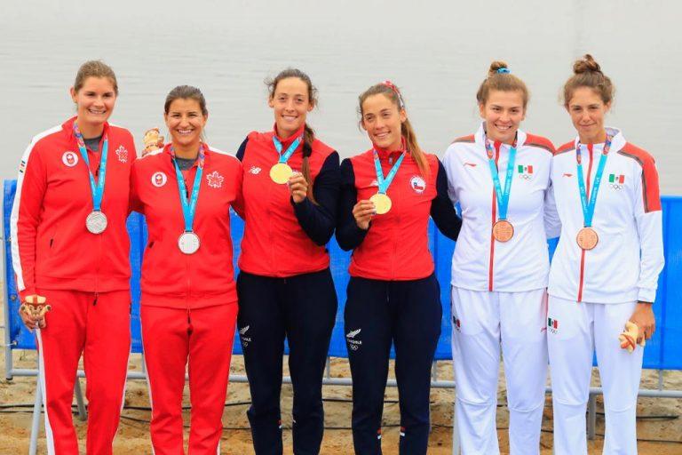 De la mano de Antonia y Melita el Remo suma Oro Panamericano al medallero Nacional