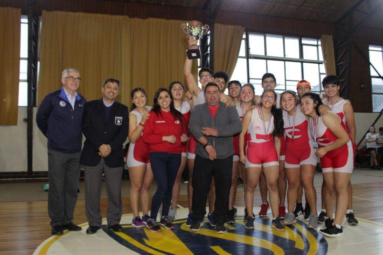 Fotografías Premiación Tercer Nacional de Remo Ergómetro Valdivia