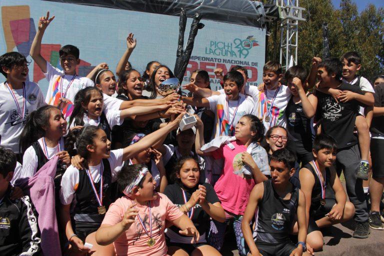 Club de Remeros Arturo Prat conquista Nacional de Pichilaguna 2019