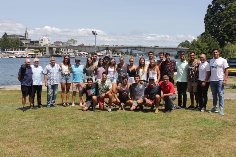 Federación Chilena de Remo destaca trabajo de deportistas durante el 2019