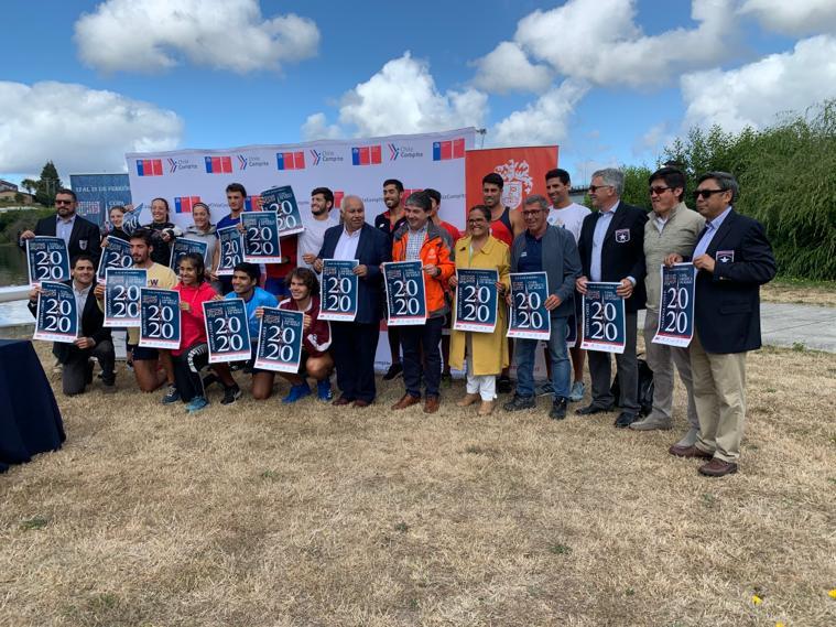 Federemo presentó la Copa América 2020 en Valdivia