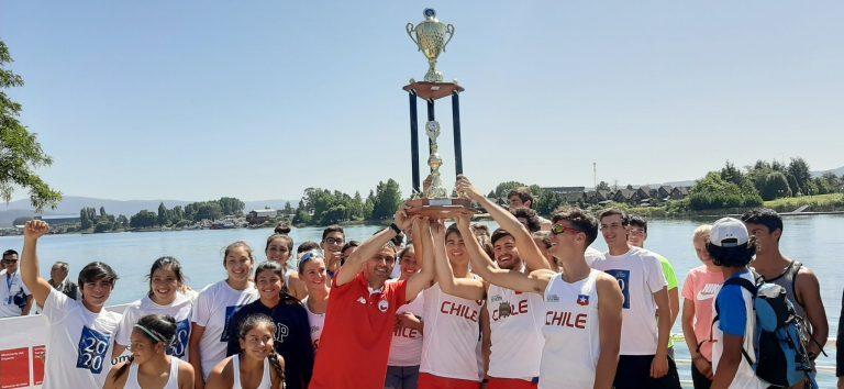 Chile conquistó la Copa America de Remo Valdivia 2020.