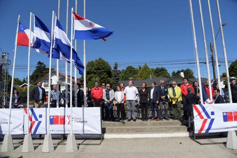 Ministra del Deporte inauguró la Copa America de Remo Valdivia 2020