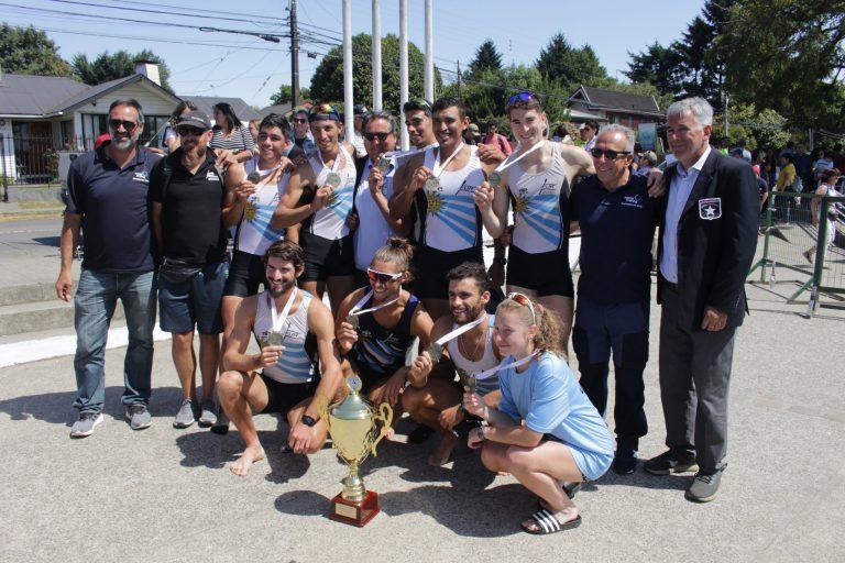 Con Uruguay Campeón de la regata de 6000 mts se finaliza la Copa America de Remo Valdivia 2020