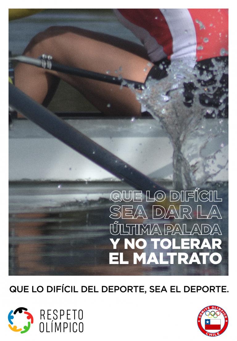 Federación Chilena de Remo se adhiere a protocolo DS 22 Contra el Abuso, Acoso y Discriminación en el Deporte.