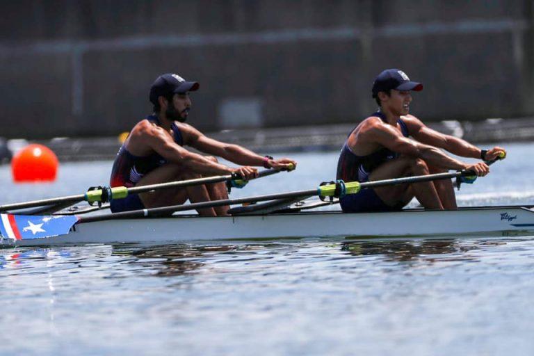 Cesar Abaraoa y Eber Sanhueza debutaron en los Juegos Olímpicos de Tokio.