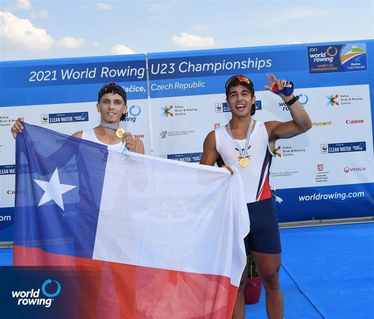 Liewald y Fernández conquistan el Oro en Mundial Sub23 en Racice.